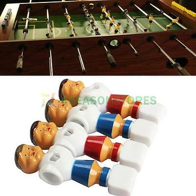 4pcs Rod Foosball Soccer Table Desk Football Men Player Replacement Parts New
