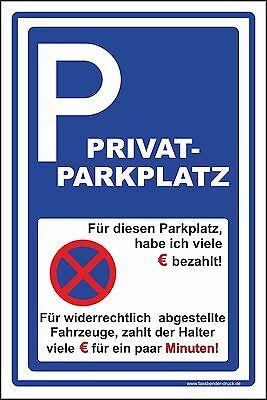 30x45cm parkverbot schild aufkleber parken verboten privatparkplatz euro d 009 eur 14 00. Black Bedroom Furniture Sets. Home Design Ideas