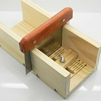 Hard Wooden Box Loaf Soap Cutter Tools Handmade Precision Cutting Soap Trimming