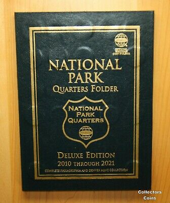 2010 -2019 ATB National Park 100 Quarter PD Set to Date in Whitman Deluxe Folder