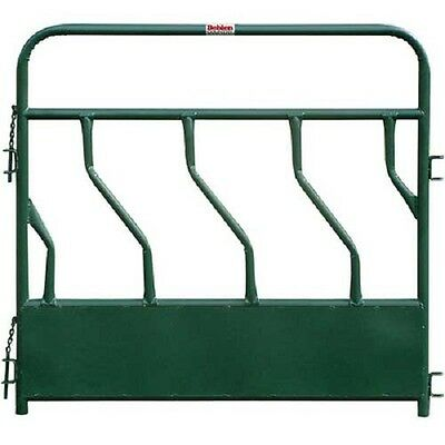 "NEW! Hay Feeder Panel With S-Bar 4 Feeding Spaces 72""L x 2""W, Green!!"