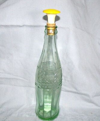 Vintage Coca Cola Bottle 1956 - Has Cork for Ironing - One of a Kind- Must See!!