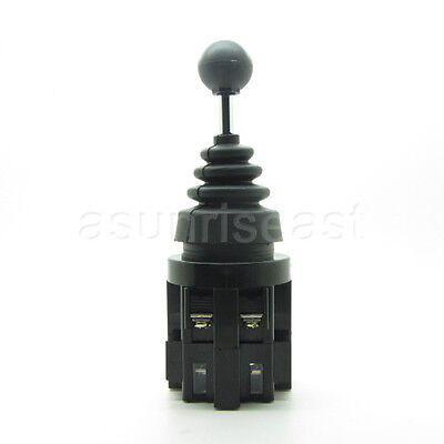 Latching 4 Position Joy Stick Wobble Switch Front Back Left Right 4PST NO