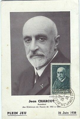 Carte-maximum France n° 377 - Jean Charcot (26182)