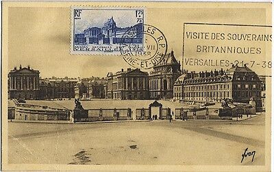 Carte-maximum France n° 379 - Chateau de Versailles (26181)