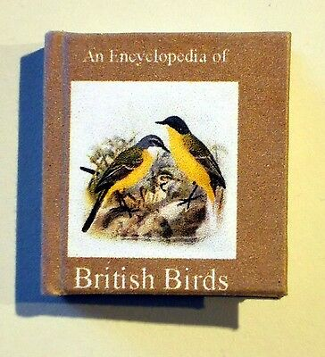 Dollshouse Miniature Book - British Birds