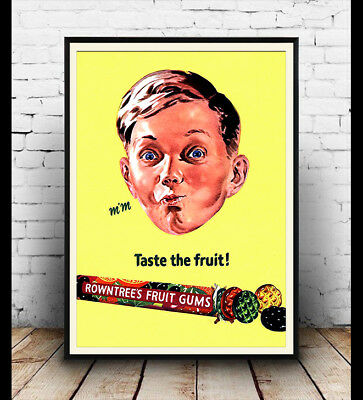 Cooltan 1950/'s  Advertising  poster reproduction.