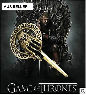 Brand New Game of Thrones Hands of the King Lapel Replica Brooch/Pin AUS 120W