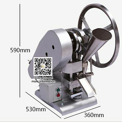 TDP1.5 single punch tablet press machine for making pill with one punch die mold