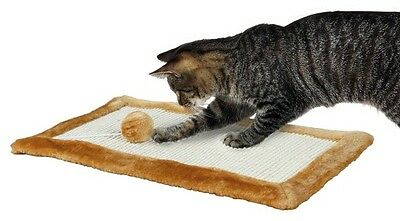 Trixie Cat/Kitten Scratching Mat Floor/Wall Mounted Plush Scratcher(4325)
