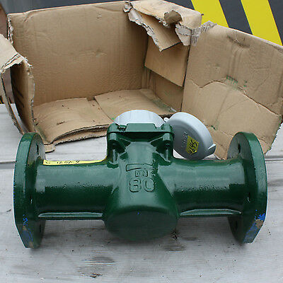"New Elster H4000 water flow meter totaliser flanged 3"" 3 inch DN80"