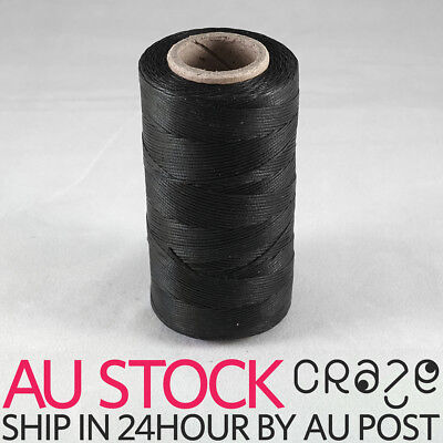 284Yards 1mm Waxed wax Thread String Cord Leather Stitching for leather DISCOUNT