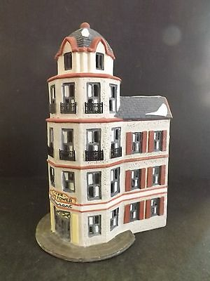 """Dept 56 Christmas In The City """"tower Restaurant Cafe"""" - #65129 - New In Box"""