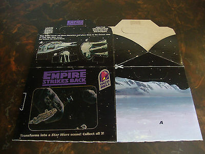 Star Wars---Taco Bell---Empire Strikes Back---Trilogy Box---1996---Still Flat