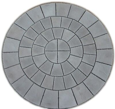 8Ft Charcoal Rotunda Circle Paving Slab Free Del Note Exceptions (1)