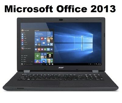 """17,3"""" Notebook Acer ES1 732 Quad Core 4x2,2Ghz 8GB 500GB Win 10 Pro MS-Office"""