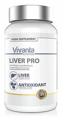 Liver Pro: Advanced Liver Support & Antioxidant Protection (120 Capsules)