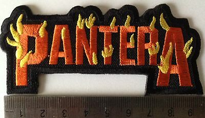 Pantera heavy metal music iron on sew on embroidered patches badges