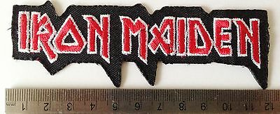 heavy metal iron on sew on patch patches rock band music patches badges