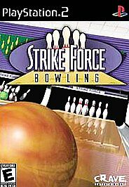 Play Station Playstation 2 PS2 Strike Force Bowling game