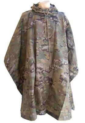 Poncho camuflaje Camogrom Helikon - colores Multicam -Nylon Ripstop lluvia