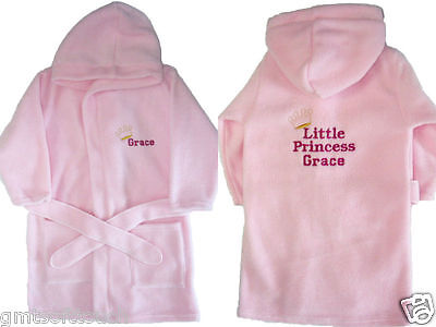 Personalised Dressing Gown, Bath Robe, New Baby Gift, Birthday Gift, Baby Shower