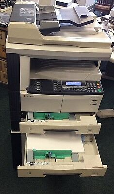 Kyocera KM-2550 Copier Printer Network VERY Low Meter Reading