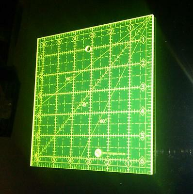 """6.5"""" Square Quilting Ruler 6-1/2"""" X 6-1/2"""" Sewing Template"""