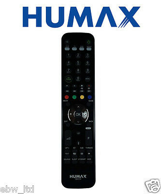 GENUINE Humax RM-F04 Remote Control For Humax HD Fox T2 and HDR Fox T2, SALE