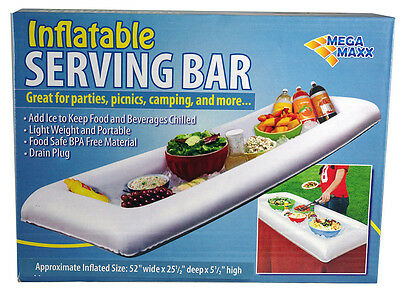 Inflatable Serving Salad Bar Buffet Picnic Drink Table Cooler Party soda Outdoor