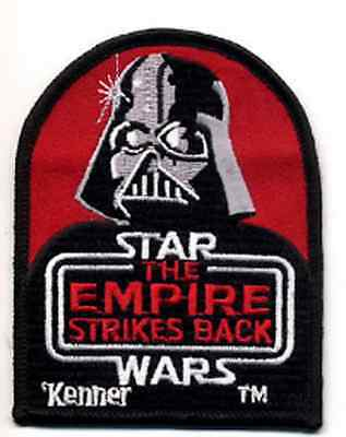 "Star Wars Empire Strikes Back Kenner Logo 4"" Patch-FREE S&H (SWPAX-002)"