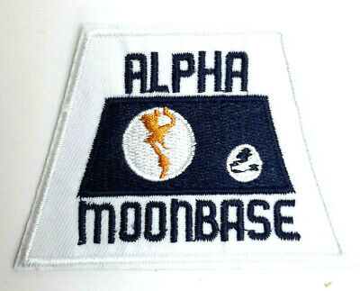 "Space:1999  Alpha Moonbase  3.5"" Uniform Patch- USA Mailed  (SPPA-1915)"