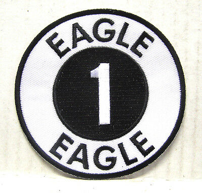 "Space:1999  Eagle 1 Logo  3.5"" Uniform DELUXE Patch- FREE S&H  (SPPA-1901)"
