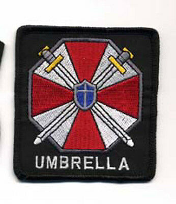 "Resident Evil Umbrella Corporation Large Logo 5.5"" Embroidered Patch(Repa-102-L)"