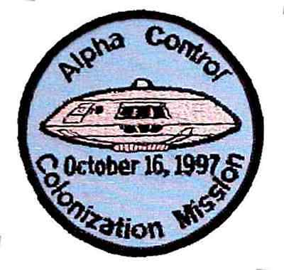 "Lost in Space Alpha Control Colonization Mission Uniform 3.5"" Patch (LSPA-99)"