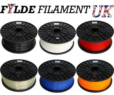3D Printer PLA Plastic Filament 1.75 / 3mm Diameter 1kg Reel for 3D Printing