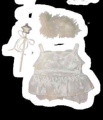 """Angel Fairy Outfit 16"""" (40cm) by Teddy Mountain will fit Build a Bear"""