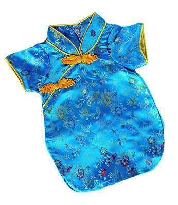 "Fancy Chinese Robe 16""(40cm ) by Teddy Mountain will fit Build a Bear"