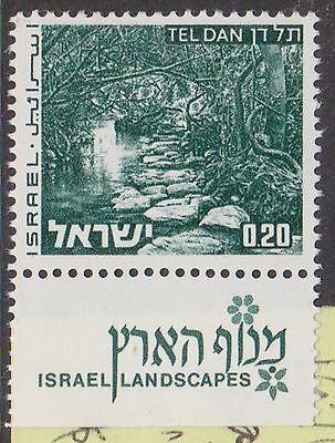(T8-114) 1971 Israel 20a green landscapes MUH