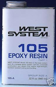 West System Epoxy Resin #105-B Gallon  size.