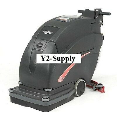 """NEW! Auto Floor Scrubber 20"""" Two 105 Amp Batteries!!"""