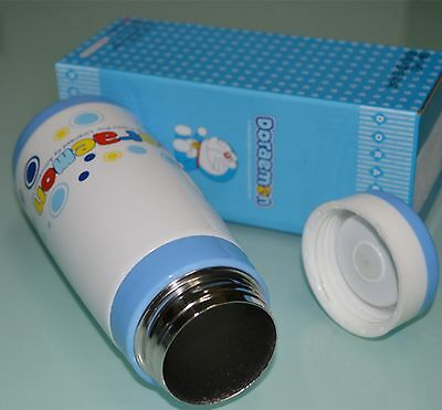 Happy Doraemon high vacuum warm keeping stainless steel straight bottle mug