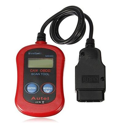 Autel Maxiscan MS300 OBDII OBD2 Car Auto Diagnostic Code Reader Scan Tool CAN
