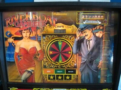 RIVERBOAT GAMBLER Arcade Roulette Pinball by Williams - FREE SHIPPING!!