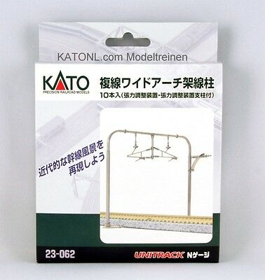 New Kato 23-062 *Double Track Wide Arch Catenary Pole