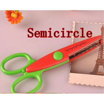 Decorative Ripple Edge Scissors DIY Photo Album Kids Handmade Artwork