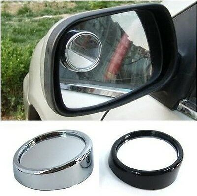 Car Oversized Large Long Wide Rear View Mirror Clip On Parking Safe Van Safety