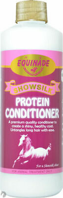 Equinade Show silk Protein CONDITIONER Concentrate Horse Pony Dog Bird Cat 500ml