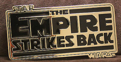 Licensed Star Wars The Empire Strikes Back Belt Buckle