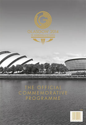 * 2014 Commonwealth Games Official Commemorative Programme (Glasgow) *